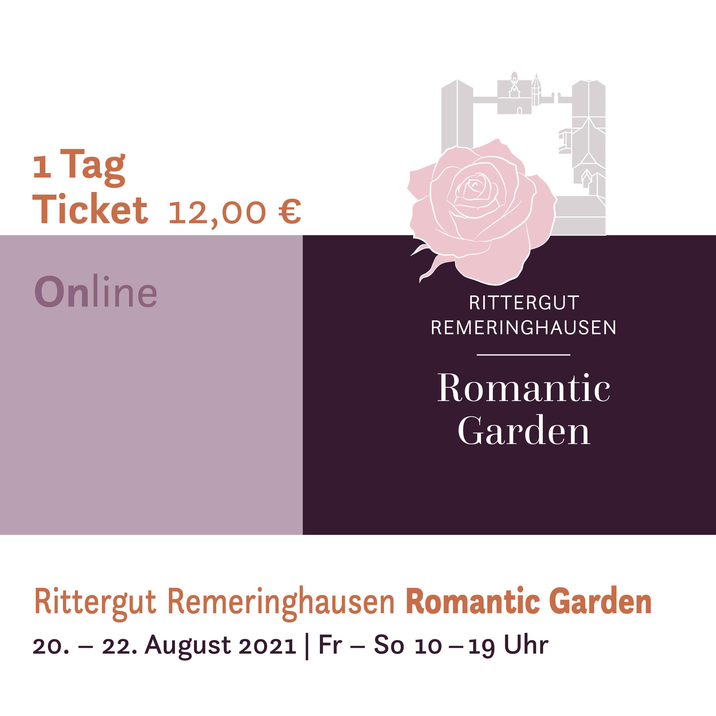 Romantic Garden 2021 -  1Tages-Ticket