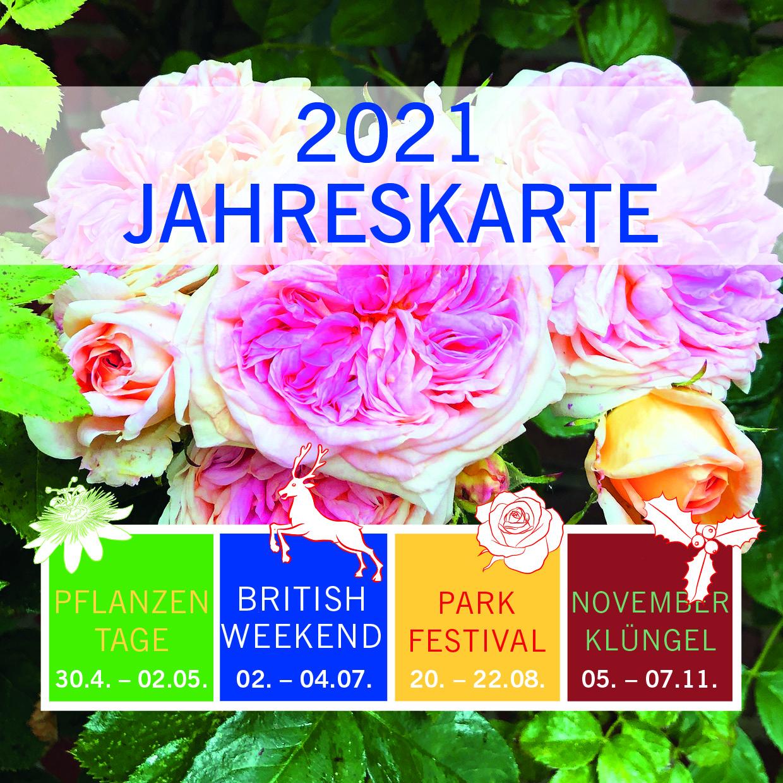 Jahreskarte für die Events in 2021